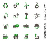 industry icons. set of 16 high... | Shutterstock .eps vector #1362217694