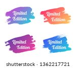 limited edition color promo... | Shutterstock .eps vector #1362217721