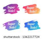 super sale color promo... | Shutterstock .eps vector #1362217724