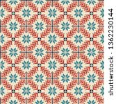 seamless pattern design with... | Shutterstock .eps vector #1362230144