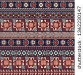 seamless pattern design with... | Shutterstock .eps vector #1362230147