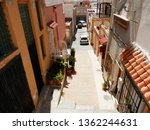 view of a typical narrow sunny...   Shutterstock . vector #1362244631