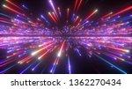 3d render  red blue fireworks ... | Shutterstock . vector #1362270434