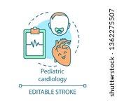 pediatric cardiology concept... | Shutterstock .eps vector #1362275507