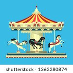 Vector Illustration  Carousel...