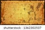 design art vintage map city... | Shutterstock .eps vector #1362302537