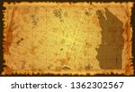 design art vintage map city ... | Shutterstock .eps vector #1362302567