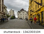 cobbled street in alesund  near ...   Shutterstock . vector #1362303104