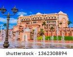abu dhabi  united arab emirates ...   Shutterstock . vector #1362308894