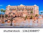 abu dhabi  united arab emirates ...   Shutterstock . vector #1362308897
