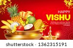 greeting banner with golden... | Shutterstock .eps vector #1362315191