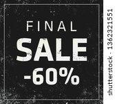 sale banner template design ... | Shutterstock .eps vector #1362321551