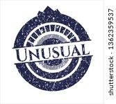 blue unusual distress rubber... | Shutterstock .eps vector #1362359537
