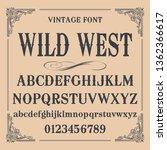 vintage label typeface named...   Shutterstock .eps vector #1362366617