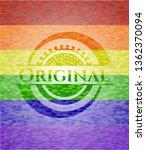 original emblem on mosaic... | Shutterstock .eps vector #1362370094