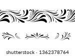 swirl floral seamless pattern... | Shutterstock .eps vector #1362378764