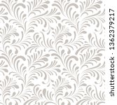 floral seamless pattern with... | Shutterstock .eps vector #1362379217