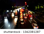 night defocused colorful lights ... | Shutterstock . vector #1362381287