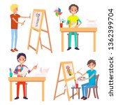 Process Of Creating Art Pictur...