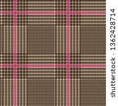 brown glen plaid seamless... | Shutterstock .eps vector #1362428714