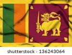 waving flag | Shutterstock . vector #136243064