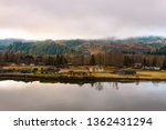 calm day at beautiful columbia... | Shutterstock . vector #1362431294