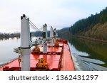 cargo ship at beautiful... | Shutterstock . vector #1362431297