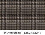black brown glen plaid seamless ... | Shutterstock .eps vector #1362433247