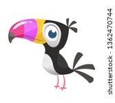 Toucan Cartoon. Vector Icon Of...