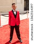 """Small photo of Brandin Stennis attends """"The 4th Annual Young Entertainer Awards"""" at Warner Brother Studios, Burbank, CA on April 7, 2019"""