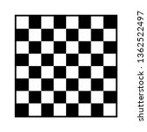 8x8 checker or chess board  ... | Shutterstock .eps vector #1362522497