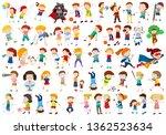 set of people character... | Shutterstock .eps vector #1362523634