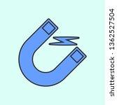 magnet icon mono color icon....