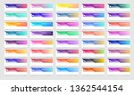 mega collection of 40 abstract... | Shutterstock .eps vector #1362544154