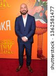 Small photo of New York, NY - April 7, 2019: Chris Butler attends Missing Link New York premiere at Regal Cinema Battery Park
