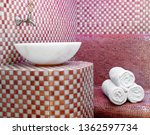 traditional turkish hamam with... | Shutterstock . vector #1362597734