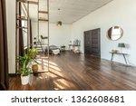 spacious studio apartment... | Shutterstock . vector #1362608681