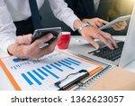 business team present...   Shutterstock . vector #1362623057