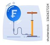 money bubble. conceptual...   Shutterstock .eps vector #1362627224