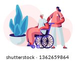 help old disabled people in... | Shutterstock .eps vector #1362659864