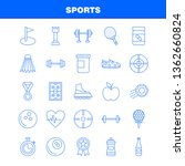 sports line icon for web  print ... | Shutterstock .eps vector #1362660824