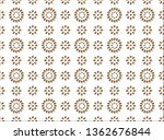 decorative cotton lace pattern | Shutterstock .eps vector #1362676844
