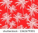 beautiful tropical vintage...   Shutterstock .eps vector #1362679301