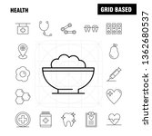 health line icon for web  print ... | Shutterstock .eps vector #1362680537