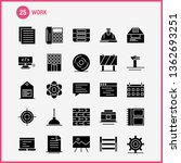 work solid glyph icon for web ... | Shutterstock .eps vector #1362693251