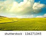 wonderful landscape of national ... | Shutterstock . vector #136271345