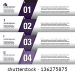 modern vector design template.... | Shutterstock .eps vector #136275875