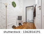 industrial style mudroom with... | Shutterstock . vector #1362816191