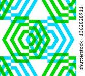 vector seamless pattern from... | Shutterstock .eps vector #1362828911