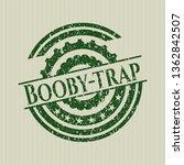 green booby trap distress... | Shutterstock .eps vector #1362842507